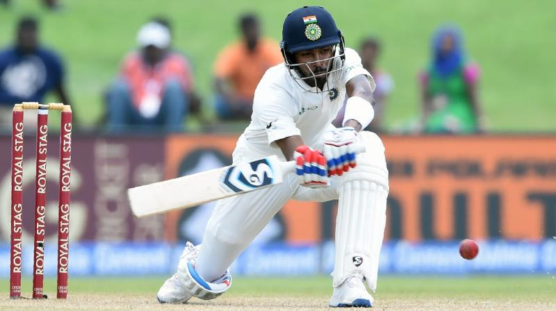 Hardik Pandya had a debut to remember, scoring a fifty and taking a wicket in the match. (Photo: AFP)
