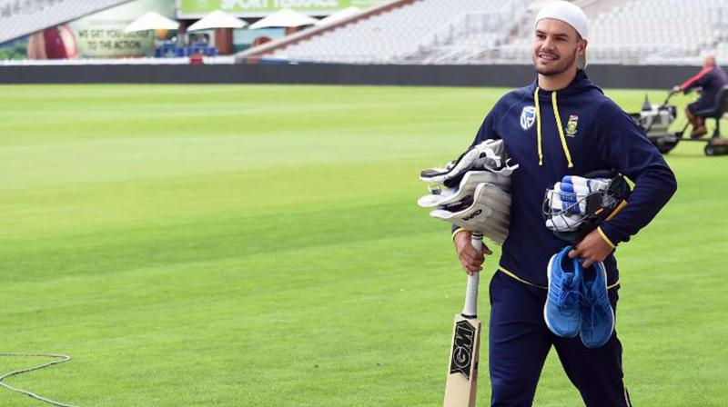 South Africa called as many as five wrist spinners in the nets ahead of the third ODI against India here on Wednesday, hoping it will help their struggling batsmen combat the combined threat of Yuzvendra Chahal and Kuldeep Yadav. (Photo: AFP)