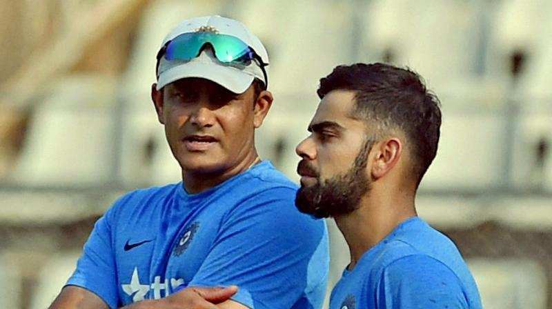 Before Ravi Shastri took over the reigns, the flamboyant right-hander was involved in an ugly spat with former coach Anil Kumble, that led to the resignation of the latter. (Photo: PTI)