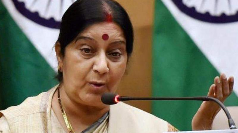 India to take up alleged conversion of Sikhs in Pakistan: Sushma Swaraj