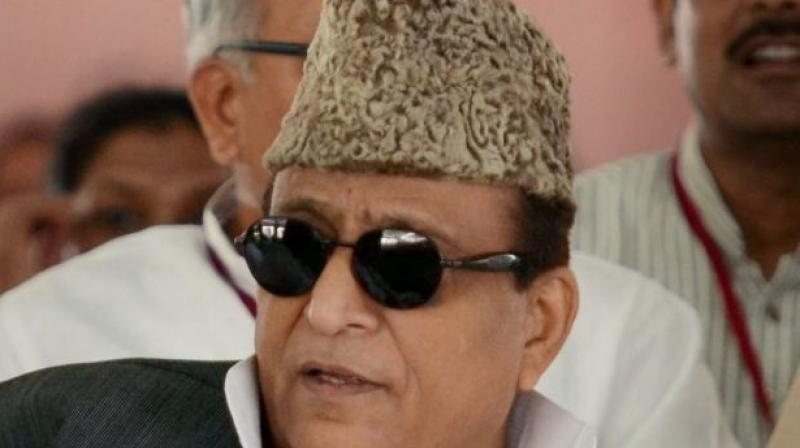 SP leader Azam Khan apparently got emotional and burst into tears while alleging that the administration is cracking down heavily on his acquaintances and supporters. (Photo: File)