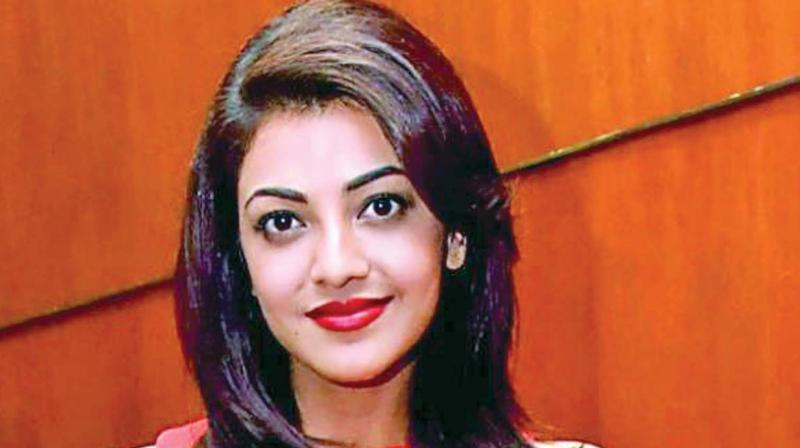 Something is. Actress kajal agarwal apologise, but