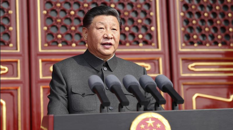 "President Xi Jinping warned on Sunday that anyone attempting to ""split"" China will be ""crushed"" as he held wide-ranging talks with Nepal's top leadership and the two countries elevated their bilateral ties to strategic partnership and signed a slew of agreements, including a plan to build a trans-Himalayan railway line. (Photo: File)"