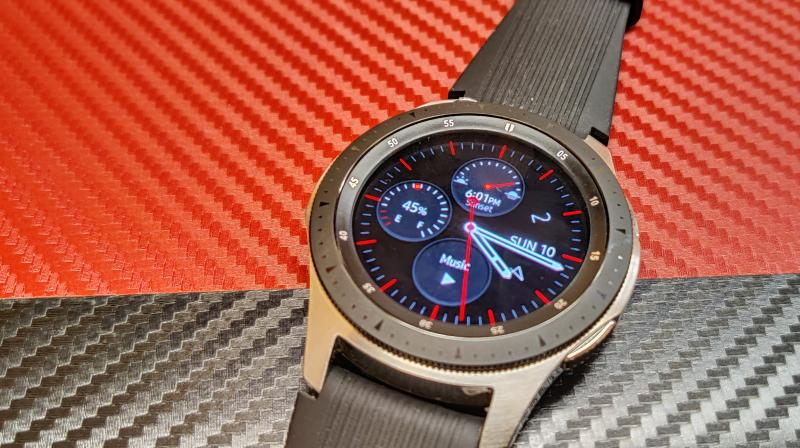 The Galaxy Watch LTE 42mm, a smaller version of essentially the same watch sells for Rs 28,490.