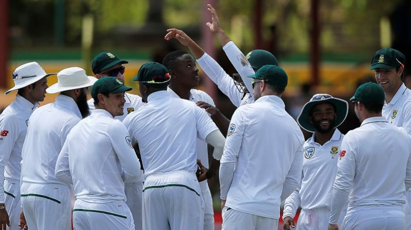 South Africa enjoyed a comfortable 2-0 series win with two heavy victories and maintained its record of having never lost a Test to Bangladesh.(Photo: AFP)