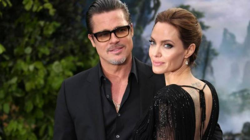Angelina Jolie with Brad Pitt (Photo: AP)