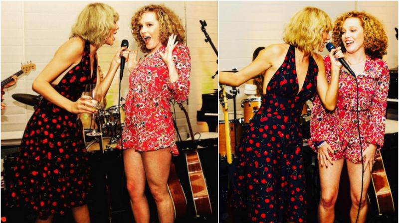 Taylor Swift Serves As Bridesmaid For Best Friend Abigail S Wedding