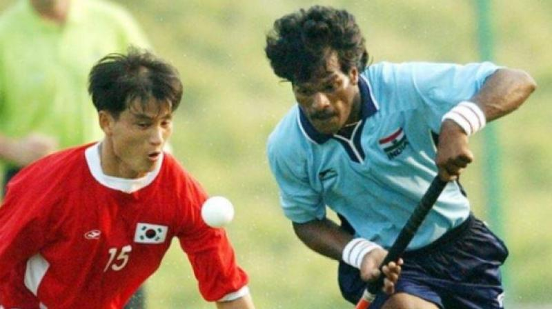 Dhanraj Pillay was given the Bharat Gaurav award by East Bengal. (Photo: AFP)