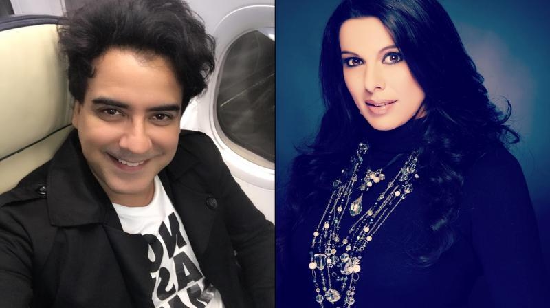 Karan Oberoi and Pooja Bedi. (Photo: Instagram)