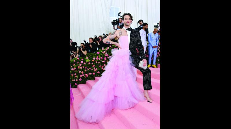 The MET gala saw multi-coloured, flamboyant celebratory outfits from both men and women.