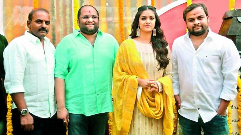 Post the super success of Mahanati, actress Keerthy Suresh has signed her next project in Telugu.
