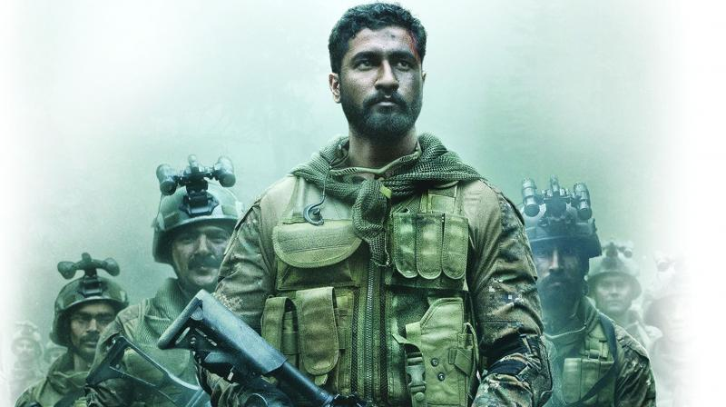Uri really belongs to and is held together by Vicky Kaushal with a scream and a tear.