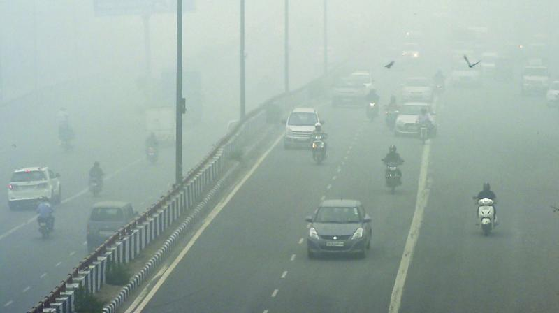 """As the air quality in the national capital deteriorates to """"severe"""" category with the Air Quality Index (AQI) on Monday stood at 500, many Indians were wondering if Delhi indeed deserves to be called the national capital in the first place. (Photo: File)"""