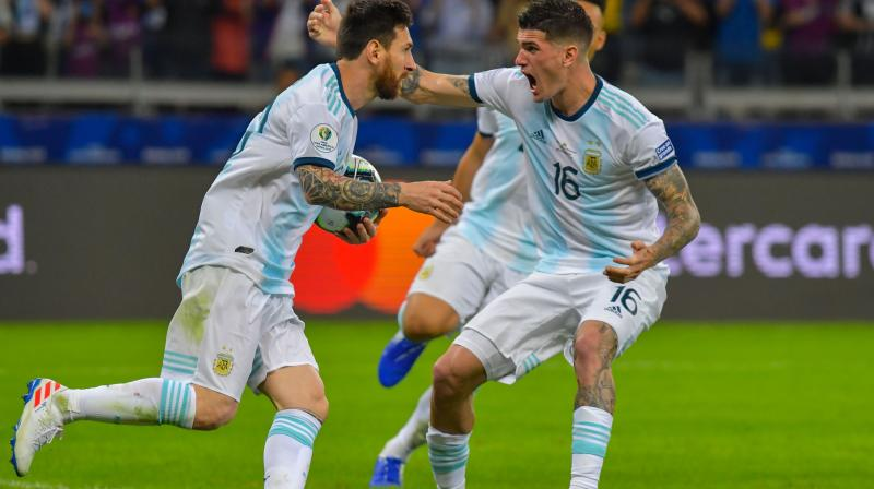 Lionel Messi insisted that the level of competition is tougher than some appreciate and pointed to Venezuela holding Brazil to a 0-0 draw on Tuesday as proof. (Photo:AFP)
