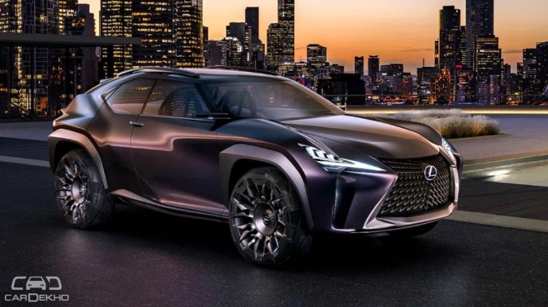 Lexus teases production version of upcoming UX crossover SUV
