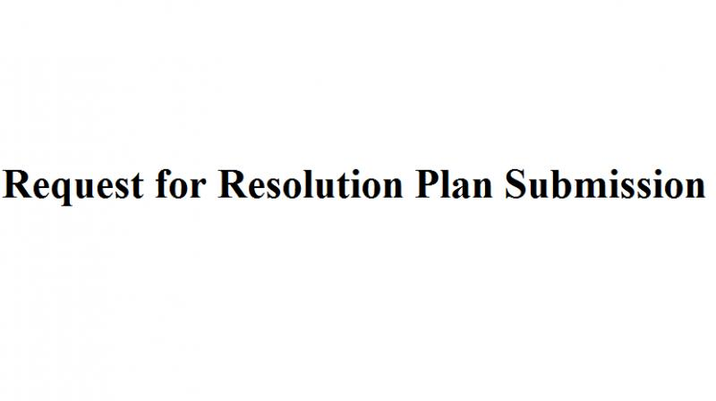 Invitation for Submission of resolution plans for Deccan Chronicle Holdings Limited (DCHL).