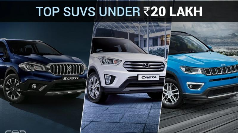 Over the years, the taste of Indian SUV buyers has changed a lot. While big and bulky SUVs used to be the popular choice earlier, nowadays, compact SUVs are the ones dominating the SUV space. In sync with the trend, we bring you a list of top five such SUVs that are priced in the Rs 10-20 lakh bracket. (Source: CarDekho.com)