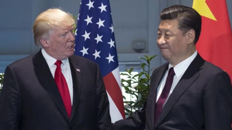 Trump says 'we are not in a trade war with China' - tweet