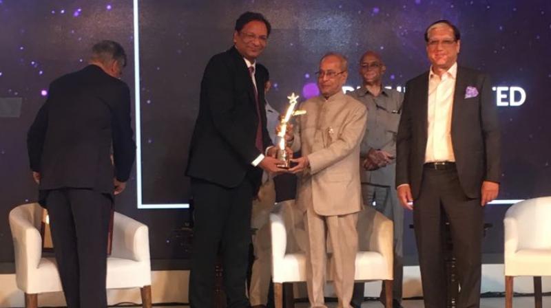 SpiceJet CMD Ajay Singh gets BML Munjal Award 2018