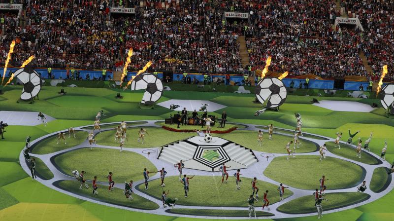 21st FIFA World Cup is set to kick off in Russia's Luzhniki Stadium on Thursday. (Photo: AFP)