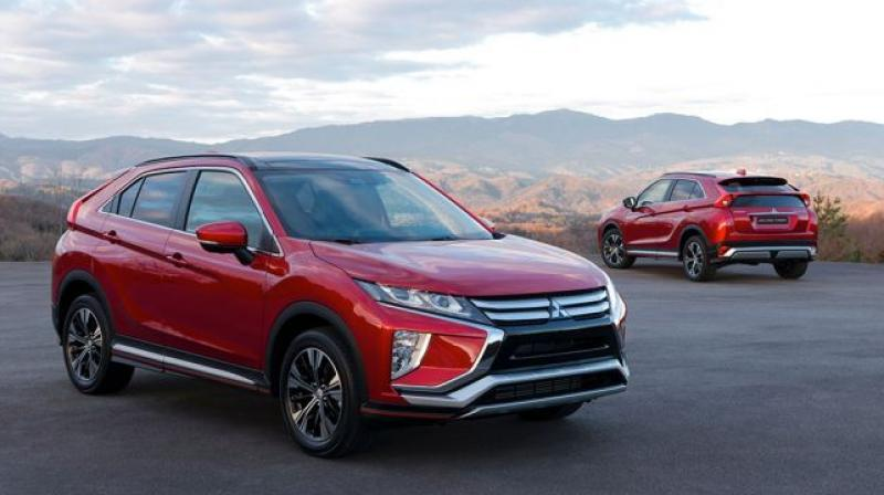 The Mitsubishi Eclipse is longer and taller than its prime rival, the Jeep Compass.