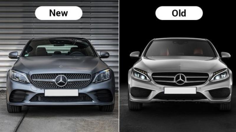 2019 mercedes benz c class facelift new vs old major differences rh deccanchronicle com