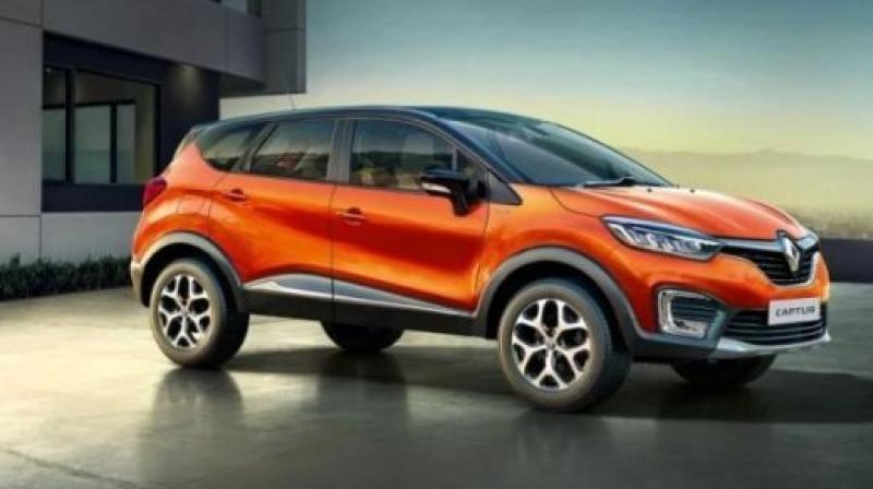 The massive 210mm of ground clearance provides a rugged stance and enables the Captur to manage harsh terrain without breaking a sweat.