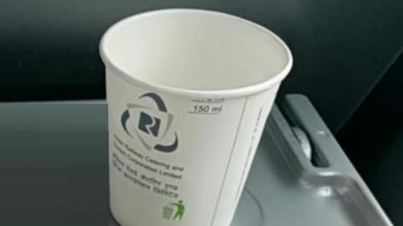 The price of a 150 ml cup of tea with tea bag and 150 ml coffee using instant coffee powder in disposable cups of 170 ml have been raised from Rs 7 to Rs 10 per cup.