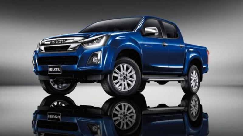 2019 Isuzu D-Max V-Cross facelift spied for the first time ...