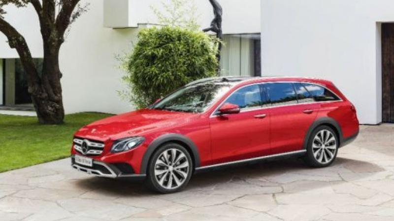 Mercedes-Benz has now revealed the pricing of the E-Class All-Terrain station wagon. It's priced at Rs 75 lakh (ex-showroom India)