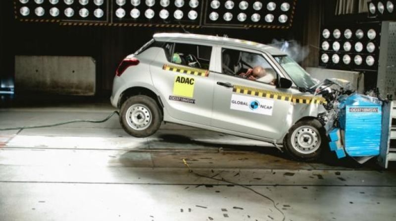 Maruti continued selling thousands of units of the Swift in India.