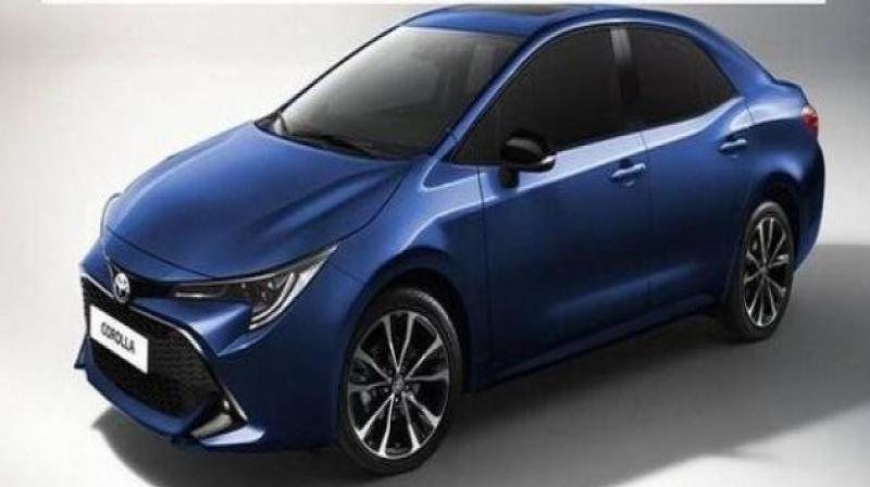 Toyota is expected to showcase its new Corolla sedan at the upcoming Guangzhou Motor Show in China.