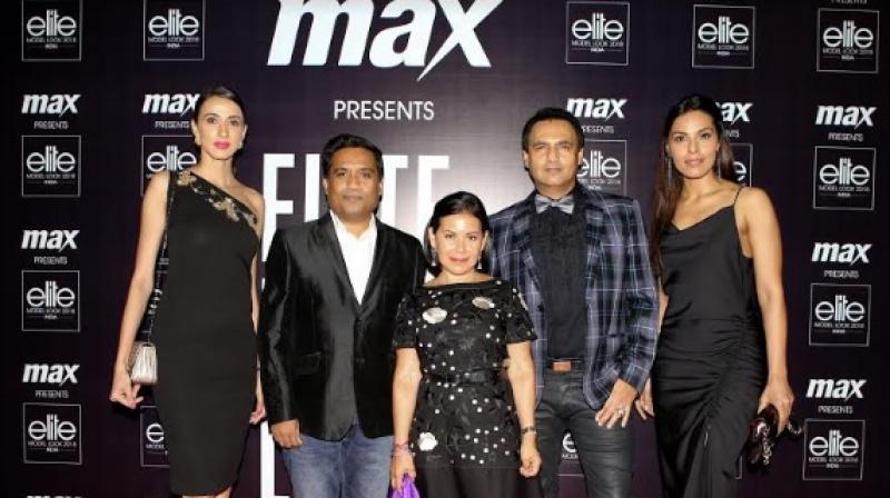 (L-R) Alesia Raut, Shital Mehta, Iris Minier, Marc Robinson, Deepti Gujral