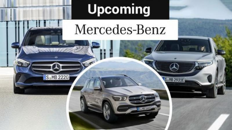 Mercedes Benz Glc Facelift New B Class Cla Gls To Debut In 2019