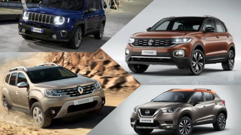 As Volkswagen and Skoda gear up to enter the compact SUV segment by 2020. The various other carmakers announcing their intention to launch a host of compact SUVs. (Source: CarDekho.com)