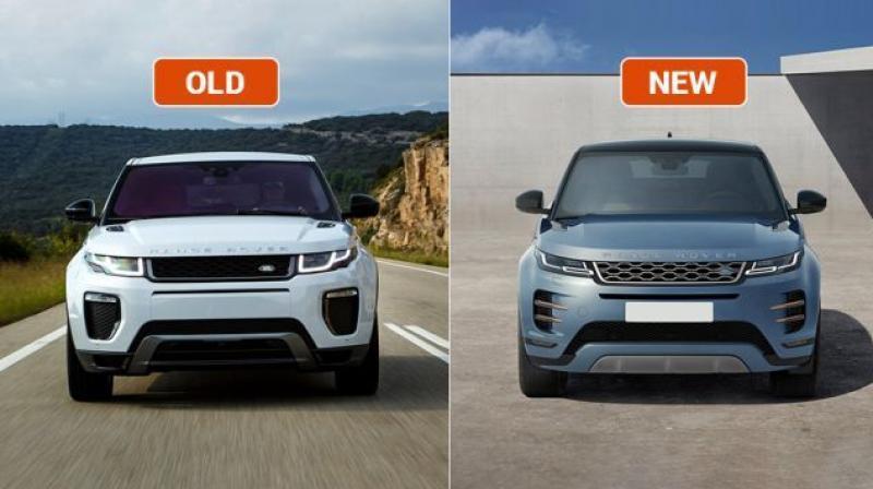 range rover evoque old vs new major differences. Black Bedroom Furniture Sets. Home Design Ideas