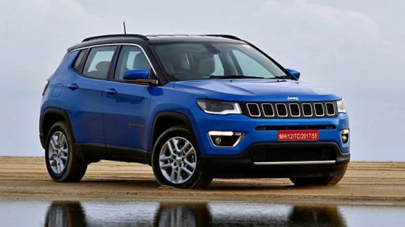 The new model could be the Renegade SUV, it shares platform with Compass.