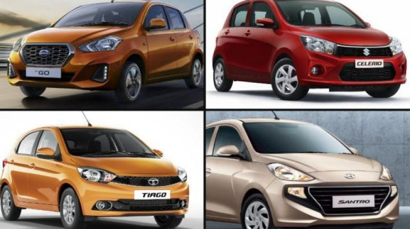 With the introduction of the GO facelift and the Hyundai Santro nearing launch, where do old players like the WagonR, Celerio and Tiago stand?