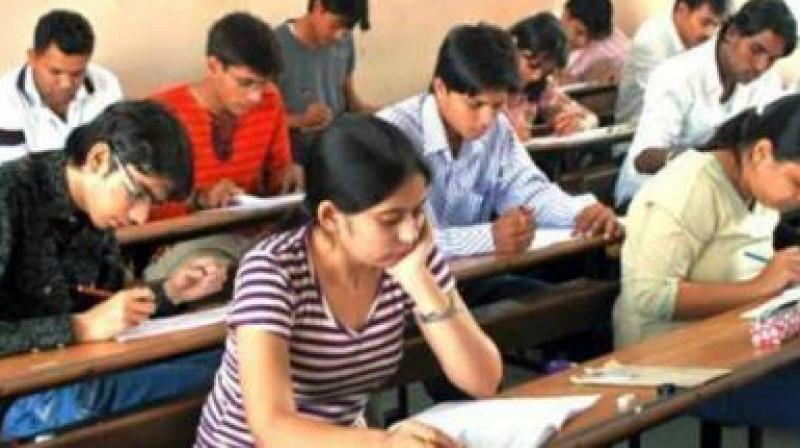 At present, the class 10 examination is conducted for a total of 500 marks, while 600 is the total marks for class 11 and class 12 exams.