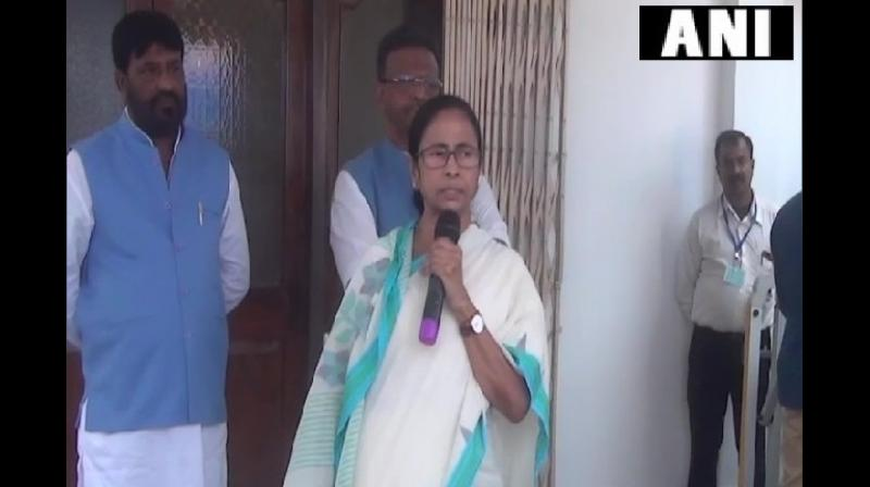 Banerjee said, 'Disinvestment is not a solution as it will deepen the current economic crisis. I think Prime Minister should speak with experts, if required he should call all a meeting of all political parties to discuss as this country belongs to all of us.' (Photo: ANI)