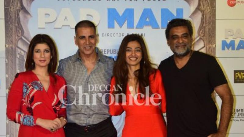 Akshay Kumar's upcoming film Padman had his fans eagerly waiting ever since the trailer came out. (Photo: Dc)