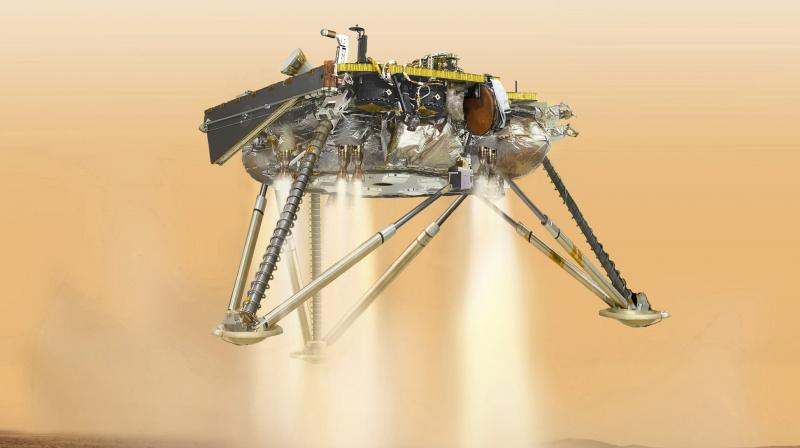 Joy as NASA spacecraft touches down on Mars
