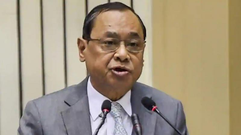 The lawyer had filed an affidavit on Monday following the unprecedented hearing on Saturday during which the CJI had said a larger conspiracy was behind it and that he would not stoop too low even to deny these allegations. (Photo: File)