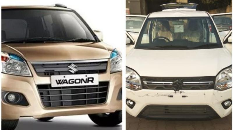 The new Wagon R will be substantially wider than the outgoing model.
