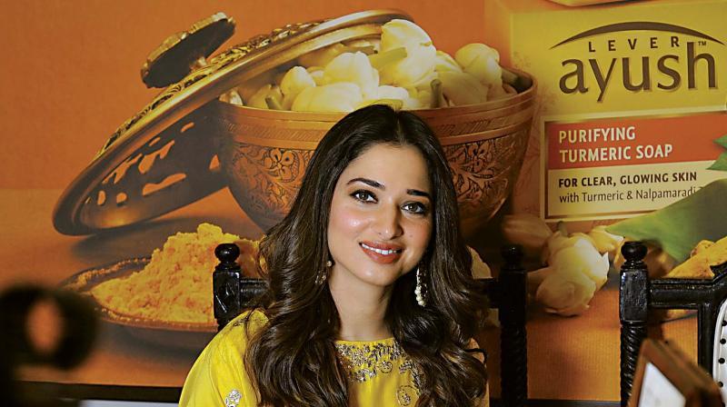 Tamannaah Bhatia is the brand face of Ayush