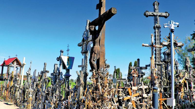 The Hill of Crosses is a unique sacral place, amazing and the only one of its size and history in the world.