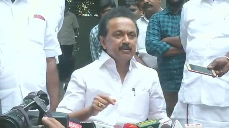 Addressing the media, Stalin said it was unacceptable and highly condemnable. (Photo: ANI/File)