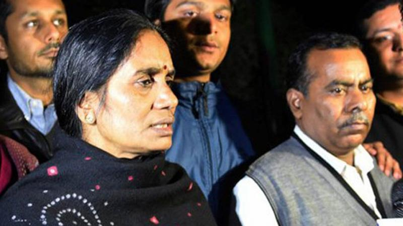 The mother of the 23-year-old paramedic, who was raped and murdered in 2012 in Delhi, said she was happy with the AAP government that recommended the rejection of the mercy petition of one of the death row convicts in the case. (Photo: File)