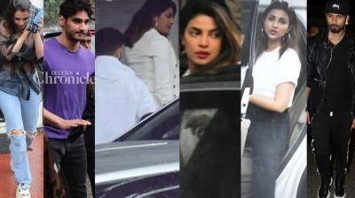 Bollywood stars were clicked in Mumbai on Sunday as they stepped out for various reasons. (Photo: Viral Bhayani/ Twitter)