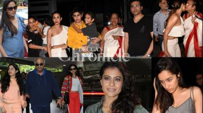 Bollywood celebrities gave paparazzi a busy day in Mumbai on Monday as they stepped out in the city on Monday. (Photo: Viral Bhayani)